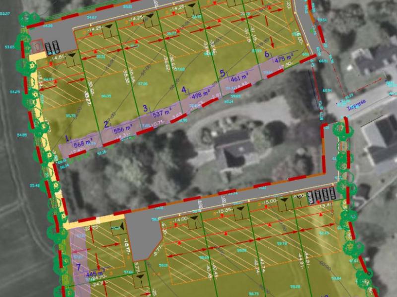 PLONEOUR-LANVERN - Terrain de 461 m²