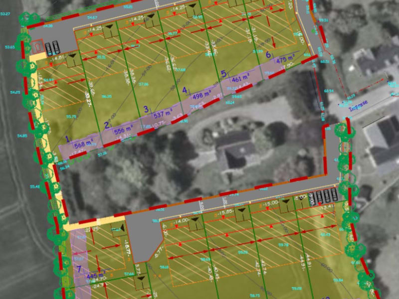 Vente terrain Ploneour lanvern 56000€ - Photo 1
