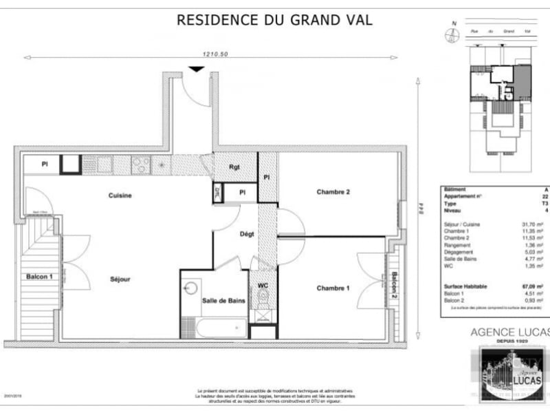 Location appartement Sucy en brie 945€ CC - Photo 2