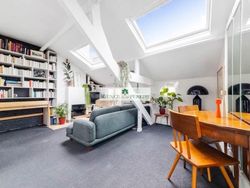 Sale apartment Paris 17ème 498000€ - Picture 2