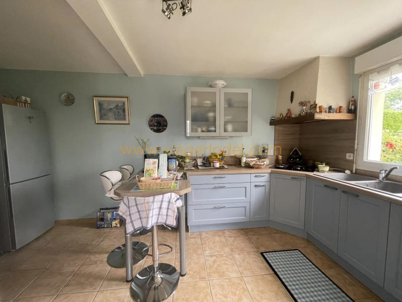 Vendita nell' vitalizio di vita casa Saint-germain-sur-ay 169500€ - Fotografia 3