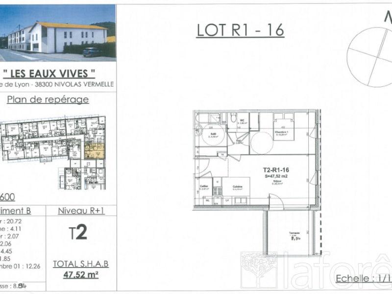 Sale apartment Nivolas vermelle 160649€ - Picture 2