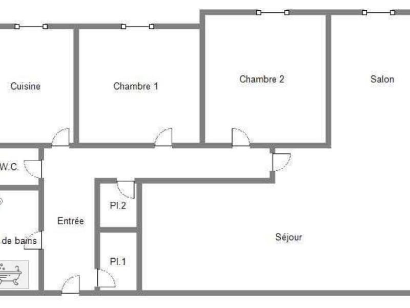 Vente appartement Caen 148500€ - Photo 8