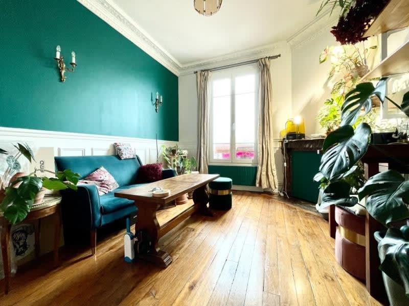 Location appartement Asnieres sur seine 890€ CC - Photo 1
