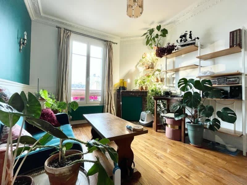 Location appartement Asnieres sur seine 890€ CC - Photo 2