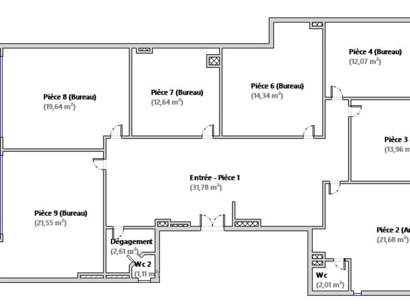 Office 8 rooms