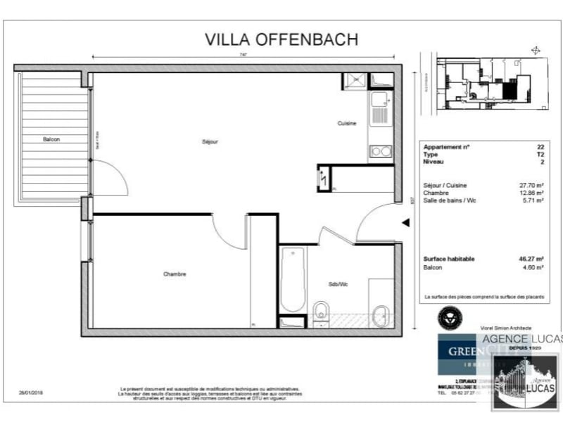 Rental apartment Villemomble 985€ CC - Picture 2