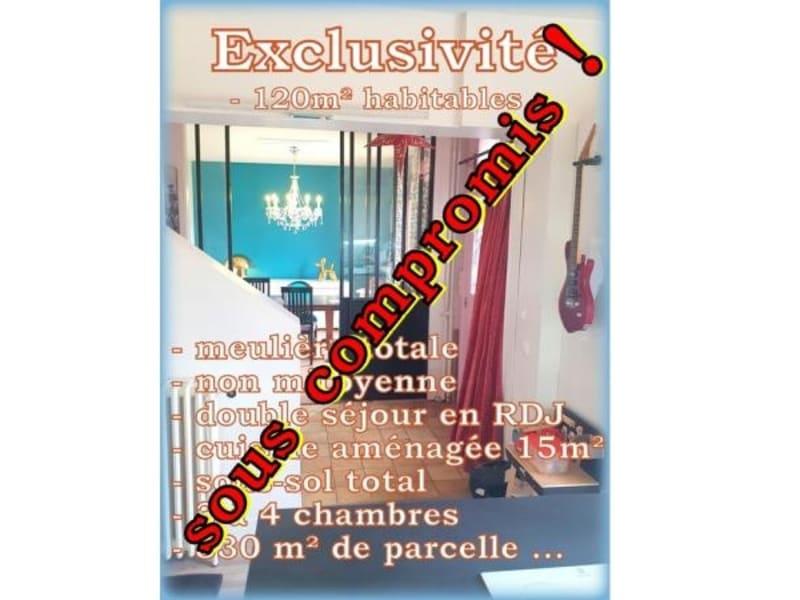 Sale house / villa Les pavillons sous bois 487000€ - Picture 1