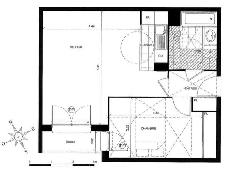 Vente appartement Palaiseau 262500€ - Photo 5