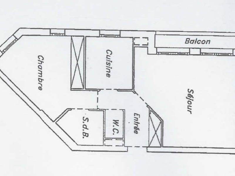 Rental apartment Suresnes 1225€ CC - Picture 2