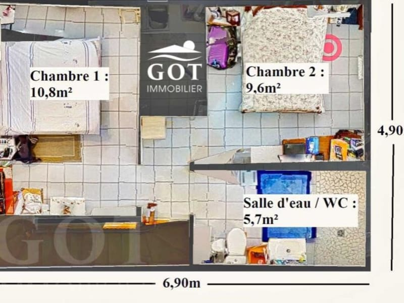 Venta  casa St laurent de la salanque 189000€ - Fotografía 6