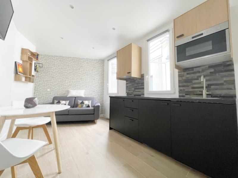Rental apartment Paris 17ème 950€ CC - Picture 2
