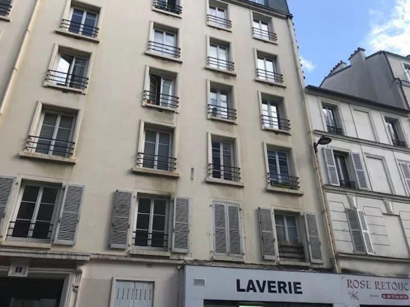Rental apartment Paris 20ème 1110€ CC - Picture 1