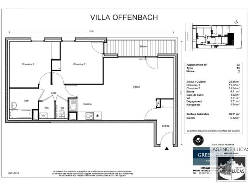 Location appartement Villemomble 1100€ CC - Photo 2