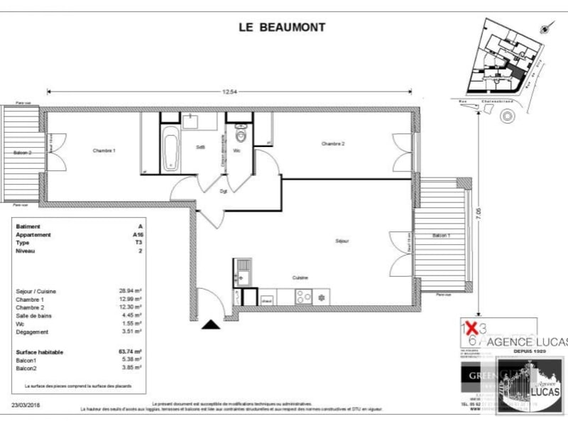 Rental apartment Savigny sur orge 970€ CC - Picture 2