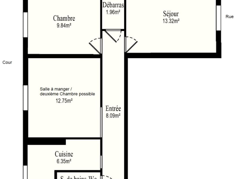 Sale apartment Vanves 369000€ - Picture 10