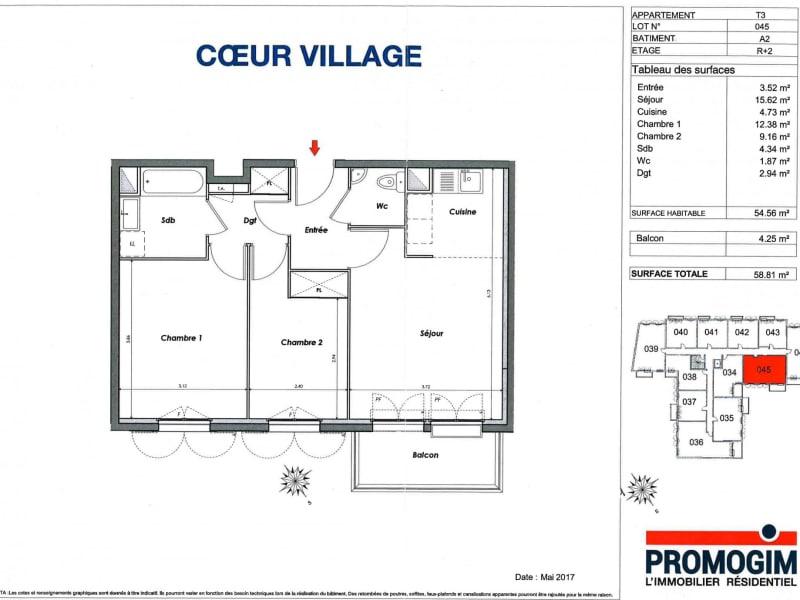 Rental apartment Montlhéry 895€ CC - Picture 11