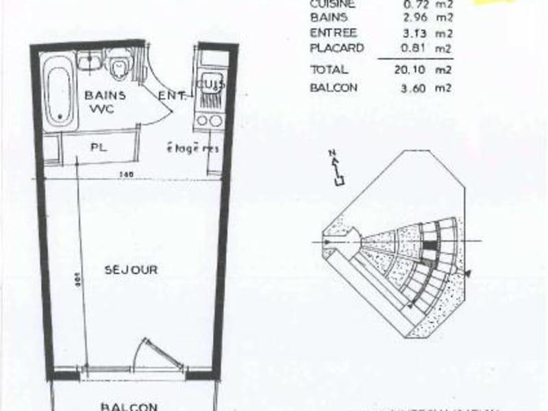 Location appartement Chevigny st sauveur 346€ CC - Photo 6