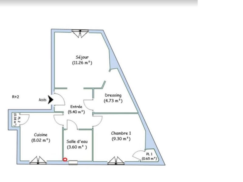 Oullins - 2 pièce(s) - 43 m2