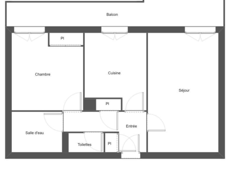 Sale apartment Toulouse 165600€ - Picture 3