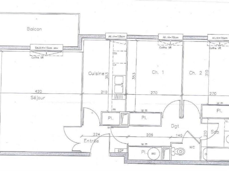 Rental apartment Arpajon 875€ CC - Picture 9