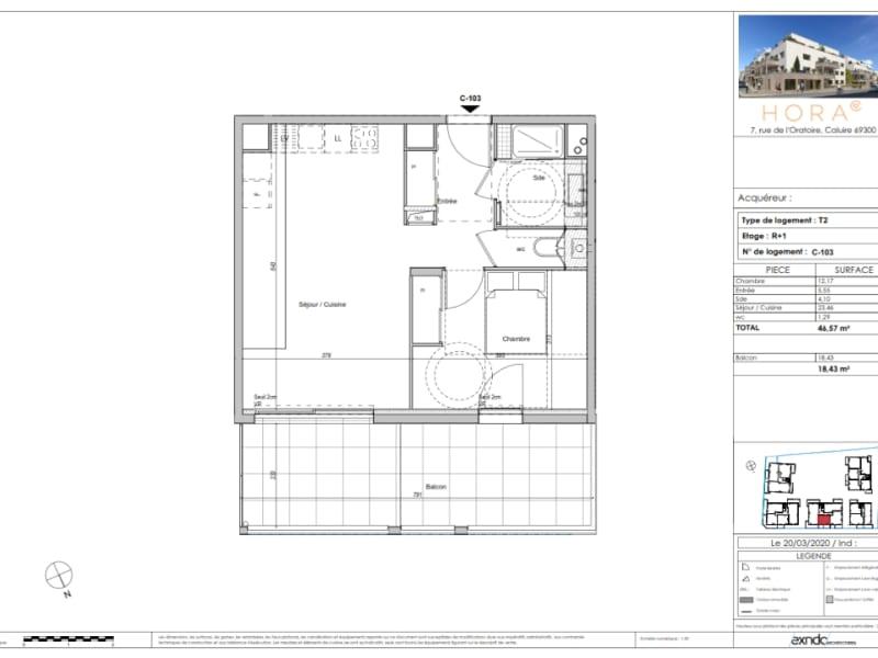 Vente appartement Caluire et cuire 357000€ - Photo 3