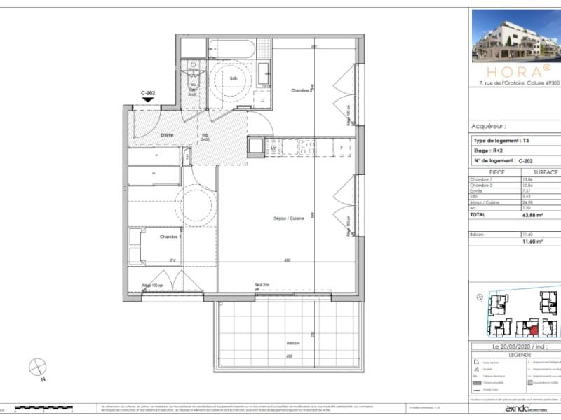 Sale apartment Caluire et cuire 465000€ - Picture 3