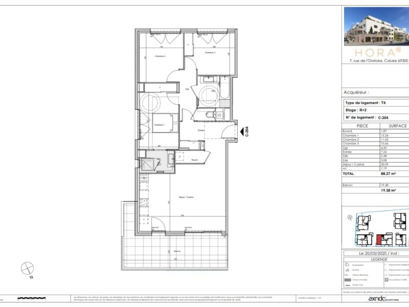 Sale apartment Caluire et cuire 640000€ - Picture 3