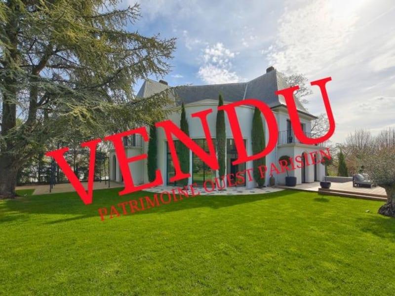 Deluxe sale house / villa Le pecq 3595000€ - Picture 1