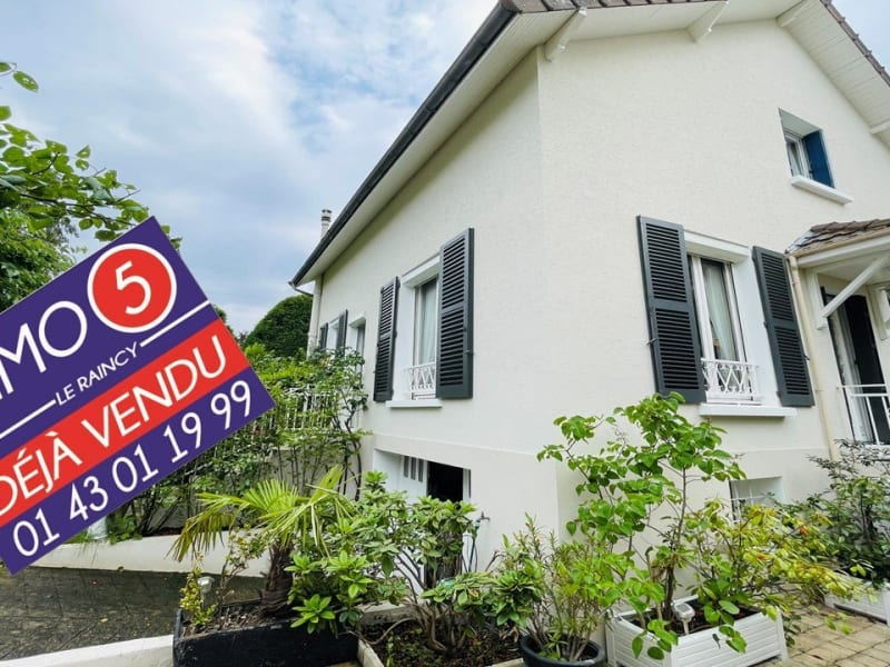 Sale house / villa Le raincy 570000€ - Picture 1