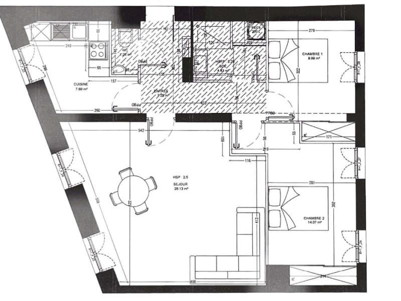 Sale apartment Vanves 545000€ - Picture 11