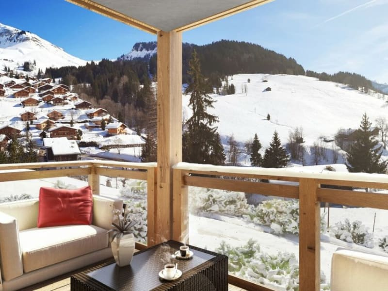 Sale apartment Le grand-bornand 465000€ - Picture 2