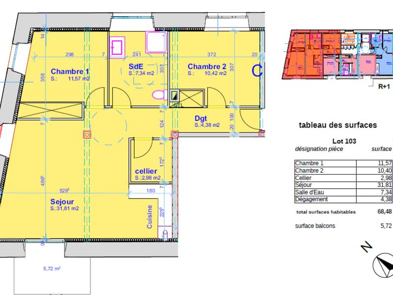 Vente appartement Pont l abbe 247000€ - Photo 4