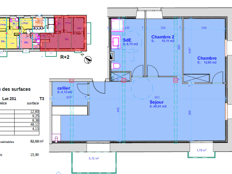 Vente appartement Pont l abbe 320500€ - Photo 4