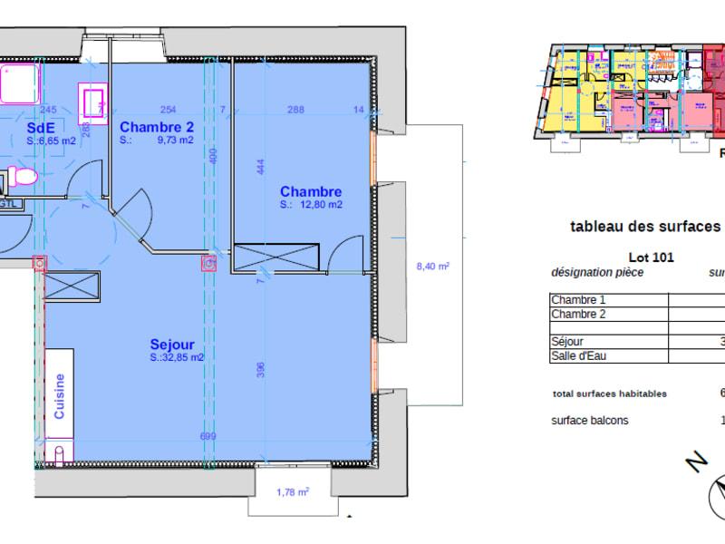 Vente appartement Pont l abbe 232500€ - Photo 4