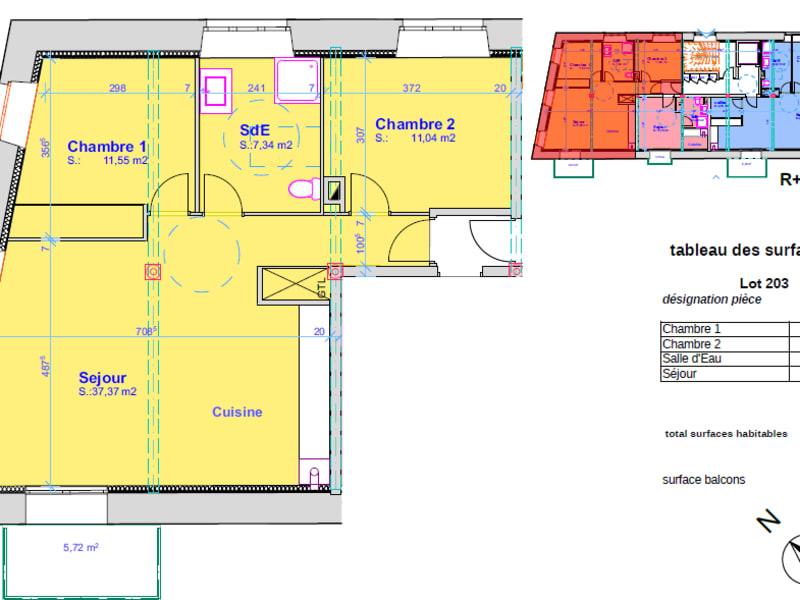 Vente appartement Pont l abbe 248000€ - Photo 4