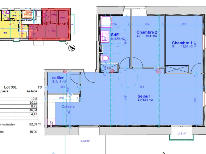 Vente appartement Pont l abbe 331500€ - Photo 4
