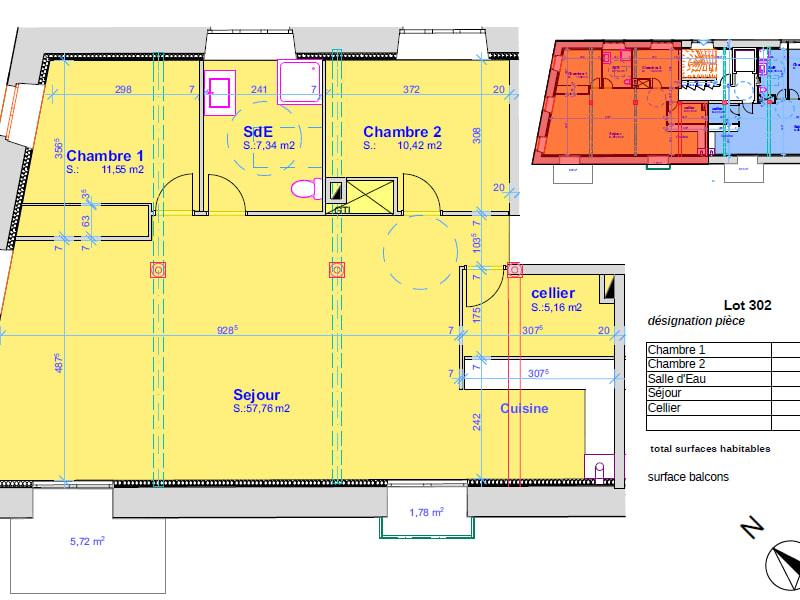 Vente appartement Pont l abbe 346500€ - Photo 4