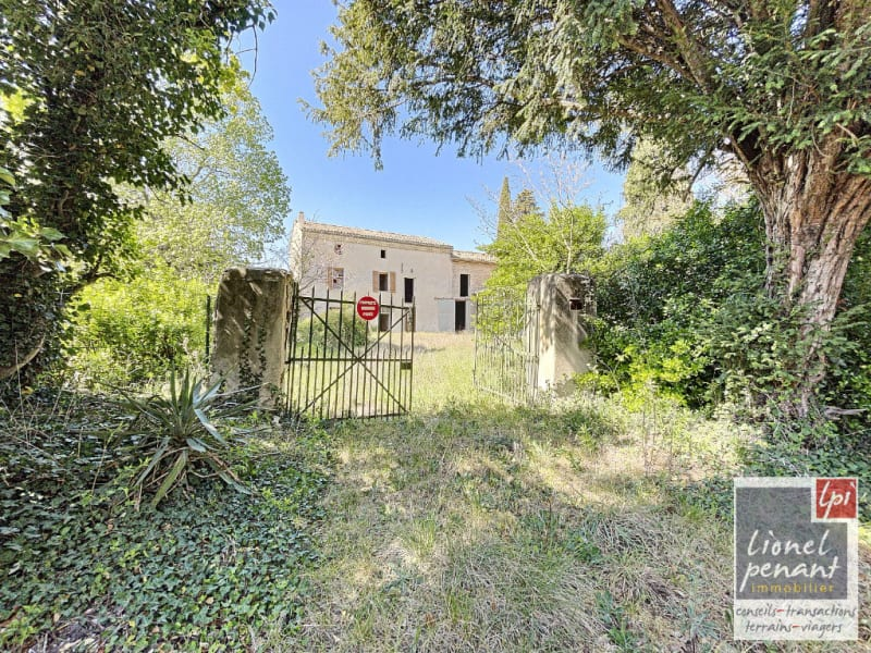 Vente maison / villa Velleron 420000€ - Photo 1