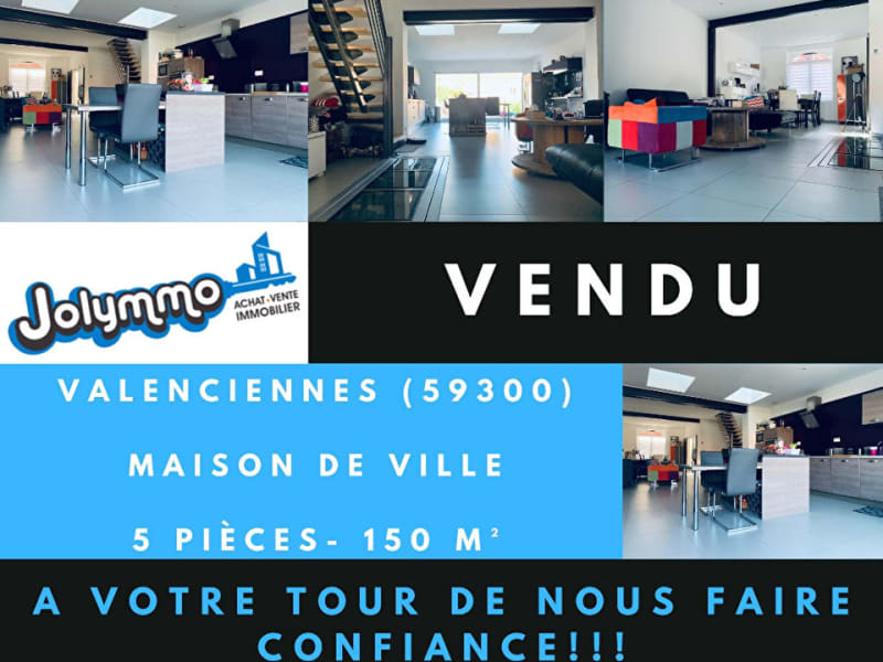 Vente maison / villa Valenciennes 317000€ - Photo 1