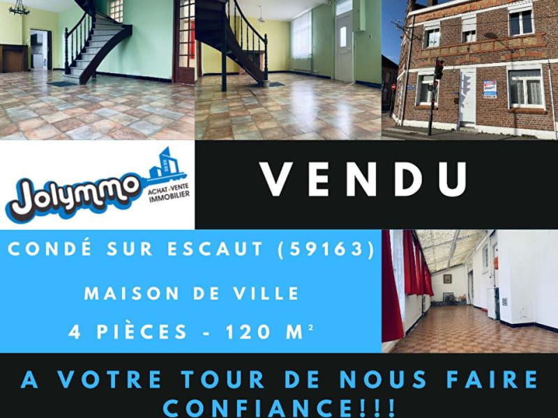 Sale house / villa Conde sur l escaut 99000€ - Picture 1
