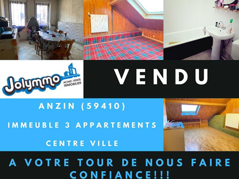 Sale building Anzin 99000€ - Picture 1