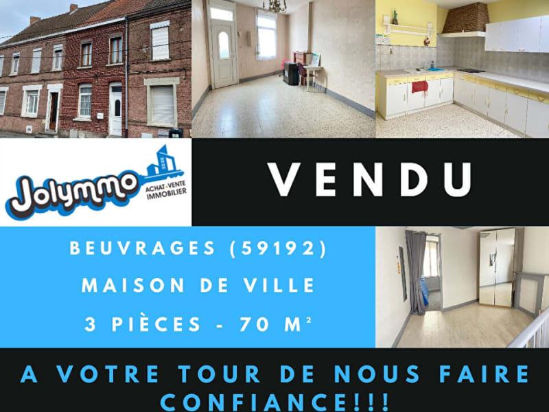 Vente maison / villa Beuvrages 80000€ - Photo 1