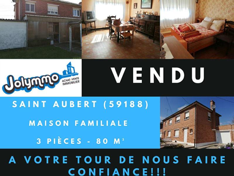 Vente maison / villa Saint aubert 80000€ - Photo 1