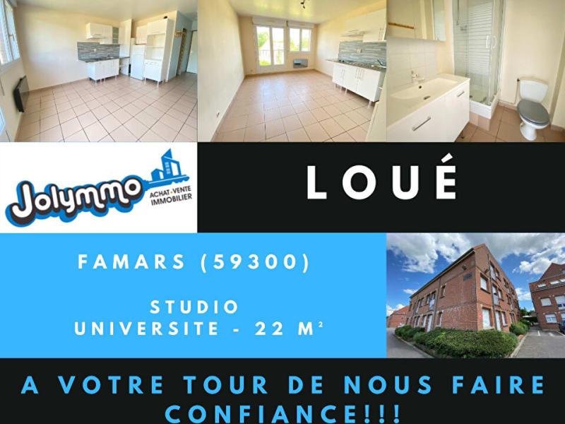 Location appartement Famars 354€ CC - Photo 1