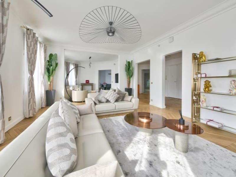 Rental apartment Paris 17ème 8000€ CC - Picture 2