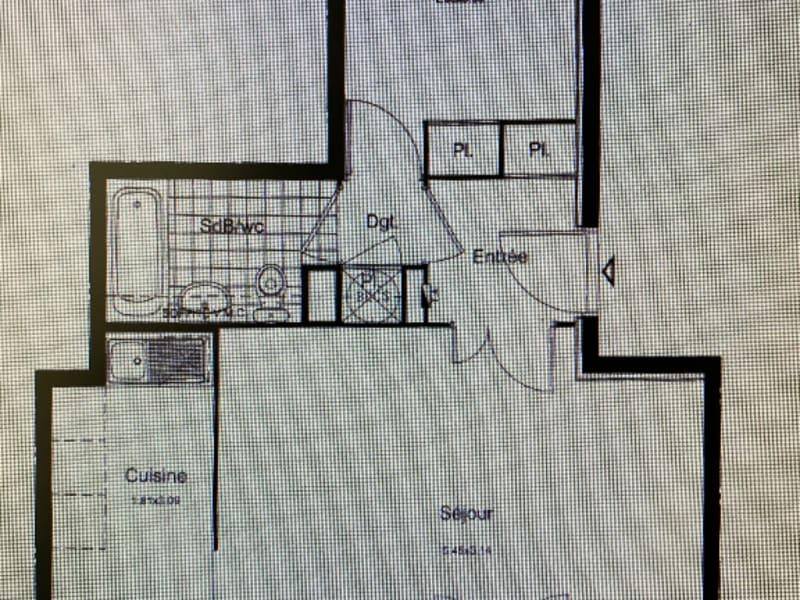 Locação apartamento Chanteloup les vignes 800,95€ CC - Fotografia 2