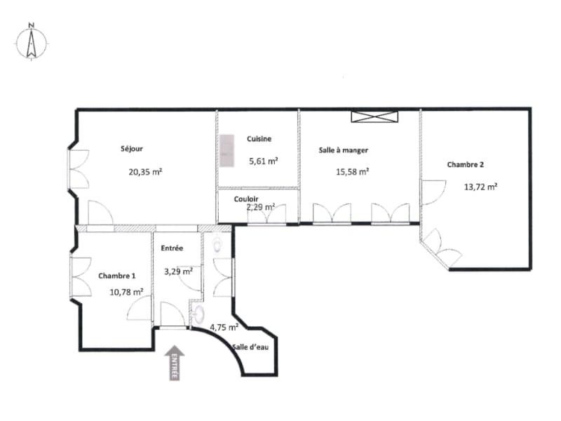 Sale apartment Versailles 639000€ - Picture 16