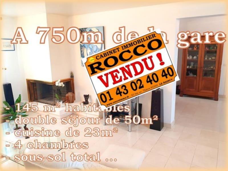 Sale house / villa Villemomble 560000€ - Picture 1
