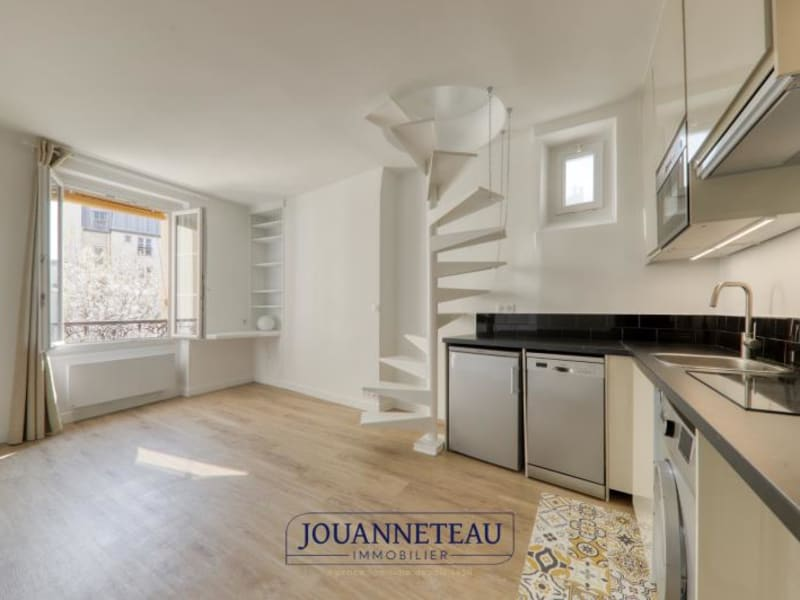 Rental apartment Paris 5ème 1385€ CC - Picture 1